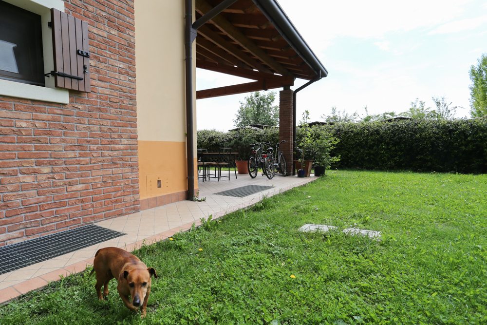 Italian garden and farm